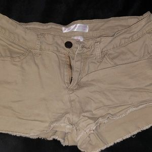 Tan Junior Shorts